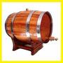 Barril | Tonel Para Cachaça/whisky/vinho.3 Litros Carvalho