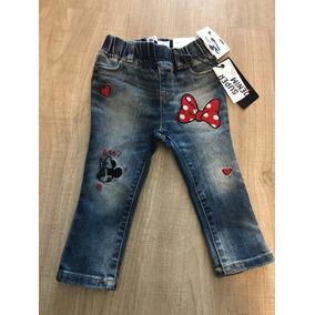 Gap - Calça Jeans Com Cintura Elástico Minnie 18-24
