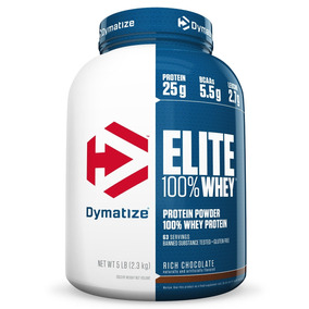 Whey Protein Elite Dymatize 5lbs 2,3kg - Validade:12/2018