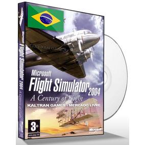 Flight Simulator Fs2004 - Simulador De Vôo Dvd-rom Para Pc