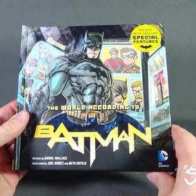 @net Batman World According - Dc Comics Original Usa Inglês