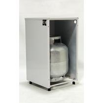 Capa Para Botijão De Gas 13k Gashouse Branco Armario Cozinha