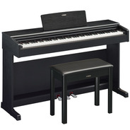 Piano Digital Yamaha Arius Ydp 144 Preto Ydp144 C/ Banco