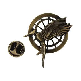 Juegos Del Hambre Pin Broche Sinsajo En Llamas Hunger Games