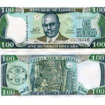 Liberia Billete De 100 Dolares Año 2011 Sin Circular