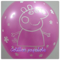 Globo Peppa Pig Cerdita Deco Fiesta Cumple P/helio
