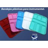 Bandejas Plasticas Para Instrumental - Odontología