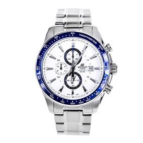 a8af7a31e8f Relógio Casio Edifice Ef 547d Branco Wr 100m Com Manual - Relógios ...