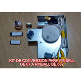 Kit De Conversion De Pinball 67 Bolas A 567 Bolas