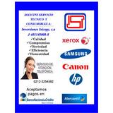 Servicio Tecnico De Impresora/fotocopiadora Xerox, Hp,canon