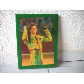 Cuadro Del Matador De Toros El Juli Coleccion Decoracion