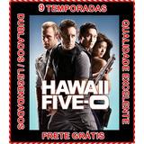 Seriado Hawaii Five 0 (1ª A 9ª Temporada) + Frete Grátis