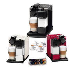 Cafetera Nespresso Lattissima Touch + 4 Tazas+ Cápsulas Cafe
