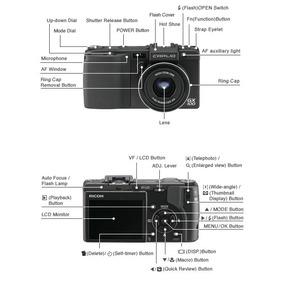 Camara Ricoh Gx100 10megapixels Raw Profesional Leer