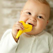 Mordedor Massageador Escova De Dentes Banana