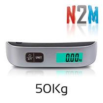 Balanza De Equipaje Digital Portatil Viaje Valijas 50kg N2m