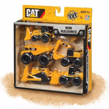 Maquinas Cat Grua Camion Excavadora Tractor Pack X 5 Once