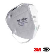 Barbijo 3m 9502 + Pack X 2 Tapaboca Mascara Protector Facial