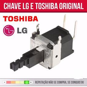 Chave Liga E Desliga Para Tv Lg E Toshiba - Original