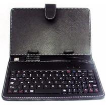 Capa Com Teclado Para Tablet Case 7 Polegadas