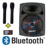 Caixa De Som Ecopower Ep 1290 Amplificada Speaker Bluetooth