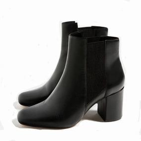 Botas Zara De Cuero