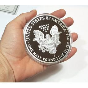 Dolar De Plata 999 Gigante - Son 250 Gramos De Plata Pura!