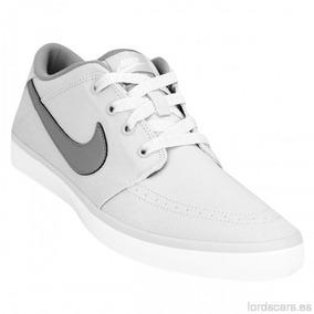 Zapatillas Nike Suketo Canvas Grises Hombre Nuevas Original