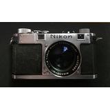 Nikon S De 1951 C/ 50mm 1.4 Funcionando Al 100%, Colección!