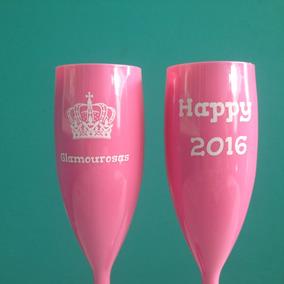35 Taça Champanhe Champagne Acrílica Personalizada