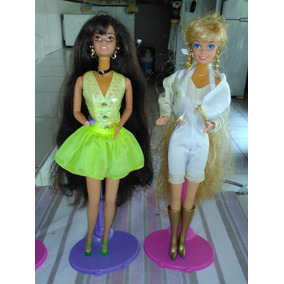 Lote Boneca Barbie Long Hair