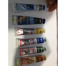 6 Tintas Telas Varias Cores E Marcas