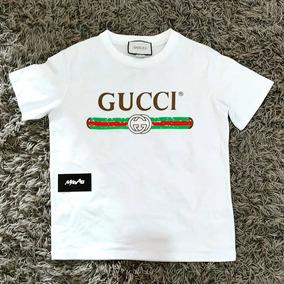 Camiseta Gucci Original - Camisetas e Blusas Manga Curta Femininas ... 2e421b1060312
