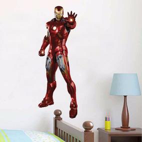 Adesivo Infantil Parede Iron Man Homem De Ferro Vingadores