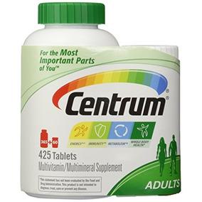 Centrum De Multivitaminas Para Adultos (425 Comprimidos Tot