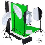 Kit Estudio Fotografico Softbox Iluminacion Excelente