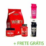 Nutri Whey+ Bcaa + Crea + Coq - Integralmedica + Fret Gratis