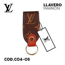 Llaveros Louis Vuitton, Semi Cuero