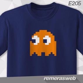 Remeras Pac-man Arcade Loading Nintendo Game Boy Gamer Geek