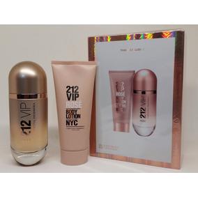 5c5d7d326 Carolina Herrera Kit 212 Feminino Perfume + Body Lotion - Perfumes ...