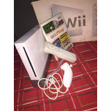 Nintendo Wii Blanco (sin Chipear) + Controles + Wii Sports