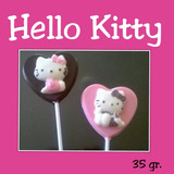 Paletas De Chocolate De Hello Kitty!!!
