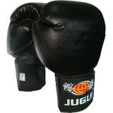 Luva De Boxe Muay Thai Combate Jugui Preta 14 Oz