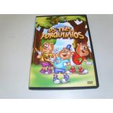 Dvd Desenho Mundo Animado Os Trez Porquinhos Com Brinde