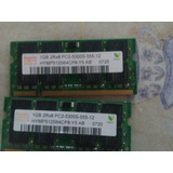 Ram 2gb 2×1 Ddr2 Pc2-5300 667 Mhz
