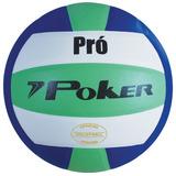 Bola De Voleibol Poker Pró - Oficial Peso E Tamanho