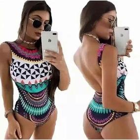 Body Anitta - Estampa Étnica - Verão 2018