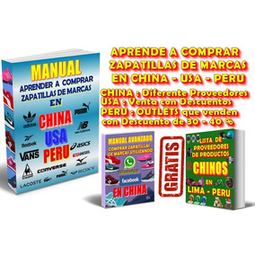 Donde Comprar Zapatillas De Marcas En China, Usa, Lima, Peru