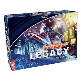 Pandemic Legacy Temporada 1 - Juego De Estrategia En Español