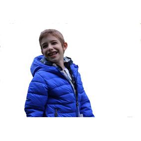 Campera Infantil Chicos Niños Capucha Importada Impermeable